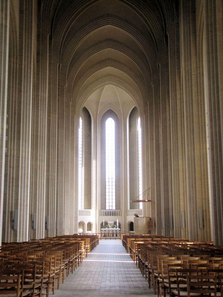 Vista Grundtvigs Church Copenhagen