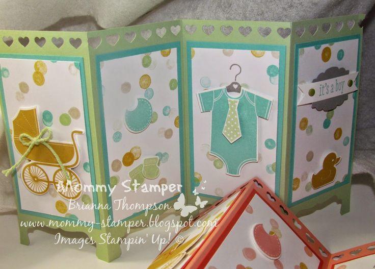 Mommy Stamper, Something for Baby, Room Divider Card
