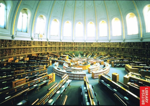 The Reading Room in the old British Library