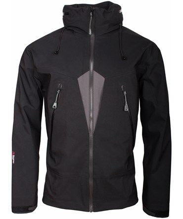 NFTO Black Subdued High Performance Lightweight Waterproof Jacket | Pritchards