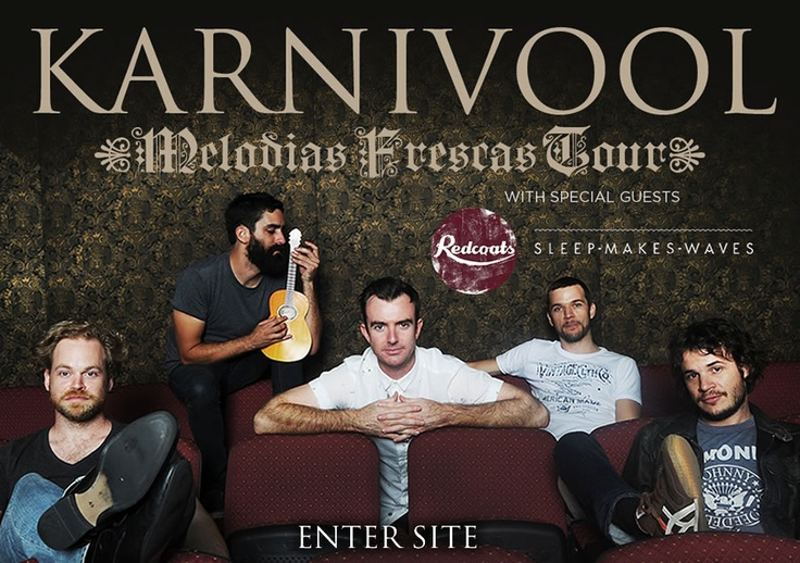 Rock Alternativo Australiano:  Karnivool, Birds Of Tokyo, The Butterfly Effect, Cog, Dead Letter Circus, Melodyssey, Sleep Parade, Mammal, Rook