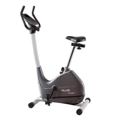 Bicicleta estática Plus Racer V7  con hasta 18 niveles. Resistencia magnética y monitor LCD.  #bicicletaestatica