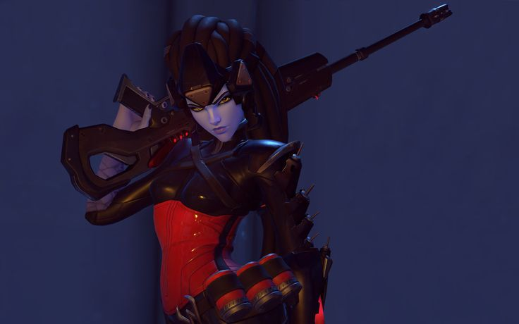 Overwatch Preorder Widowmaker Noire 03, Overwatch, AirbornStudios - computer graphics plus