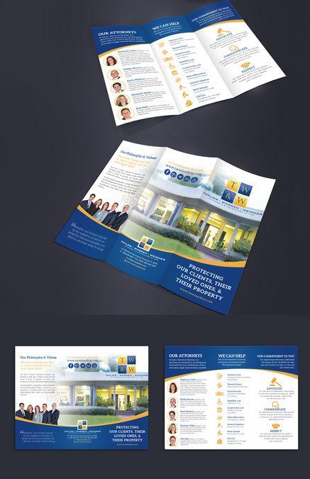 7 best Brochures images on Pinterest Brochure inspiration - law firm brochure