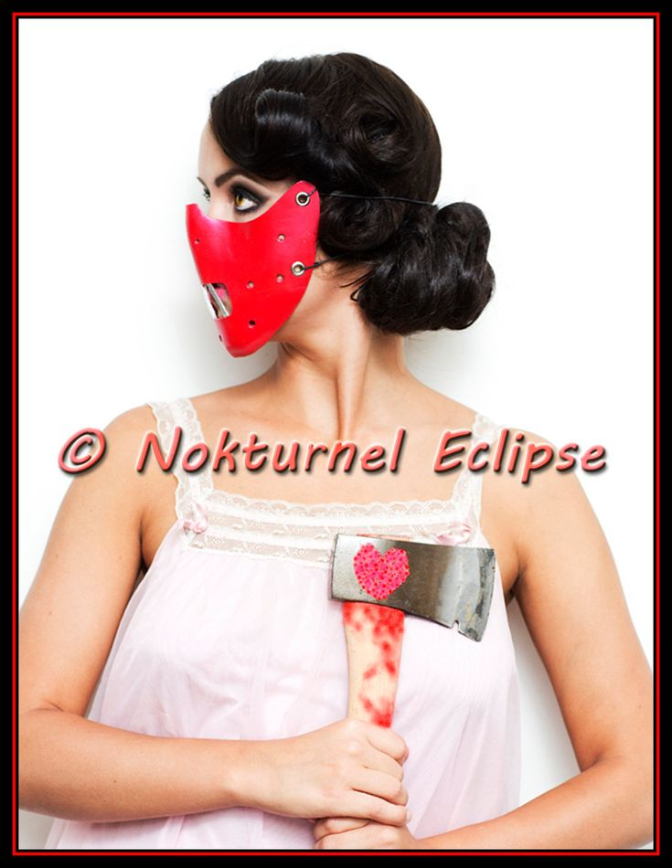 Red Hannibal Lecter Mask