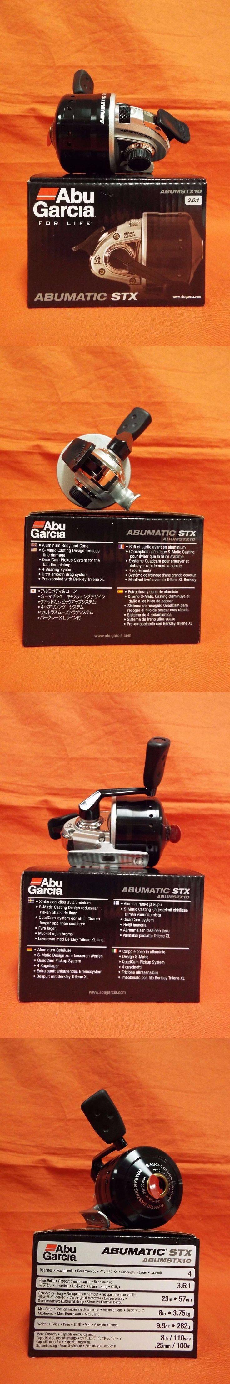Spincasting Reels 108154: Abu Garcia Abumatic Stx Spincast Reel 3.6:1 Gear Ratio #1365372 (Abumstx10) -> BUY IT NOW ONLY: $39.89 on eBay!