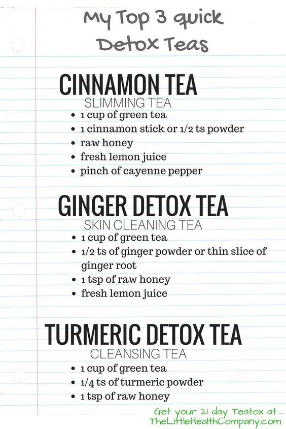 Which Detox Tea works best? My Top 7 Homemade Detox Teas  #beauty #diy