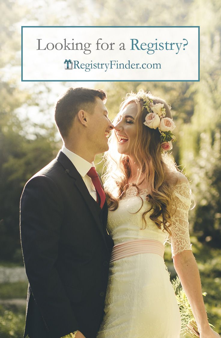 Last minute wedding gift shopping? Don't sweat it! RegistryFinder.com allows you to find anyone's gift registry in seconds! #LifeSaver #WeddingRegistry
