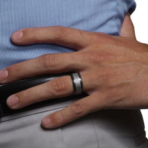 44 best Meteorite Wedding Rings images on Pinterest Meteorite