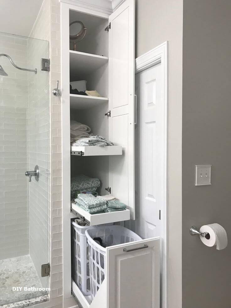 17 Mind Blowing Bathroom Cabinet Ideas Professional S Choices Demian Dashton Blog Small Bathroom Bathrooms Remodel Large Bathrooms