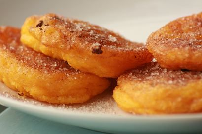 pumpkin fritters, just like mum used to make!