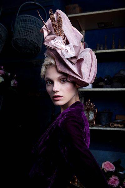 Chapeau: Hats, Millinery, Purple Passion, Mad Hatter, Hat