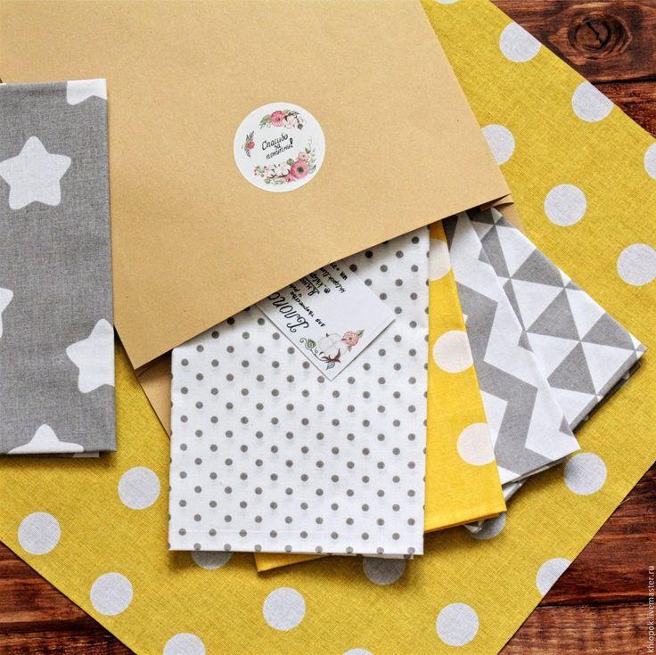 Купить Набор тканей из хлопка для шитья, творчества, рукоделия - хлопок купить, купить ткань