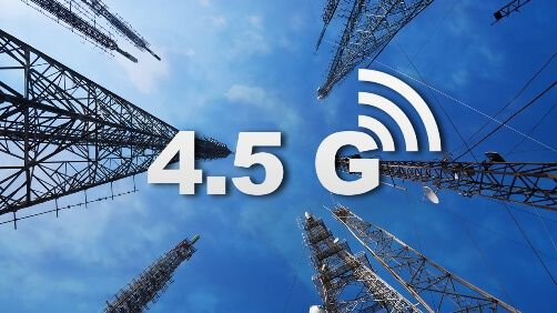 4.5G, 3G ye göre daha fazla hızlı ve daha fazla kapasiteli ve daha az gecikmesi süresi sunan 4. nesil mobil telekomünikasyon teknolojisidir.