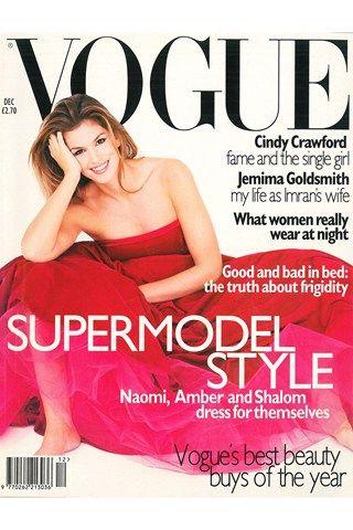Vogue UK 1995 # Cindy Crawford