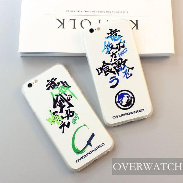 Apple iPhone 5/6/7 Schutzhülle, Handy Zubehör Overwatch Schutzhülle Overwatch Handy Schutzhülle Genji oder Hanzo