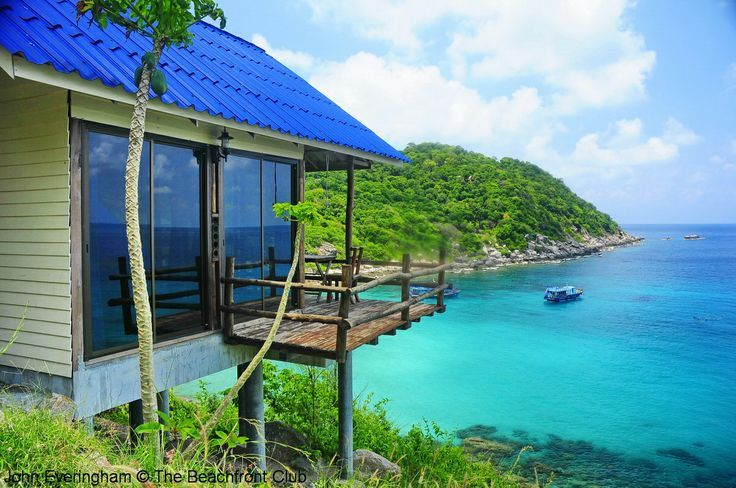 Ao Leuk Beach, Koh Tao, Thailand. The views from some of the bungalows higher on the hill can be especially attractive..jpg