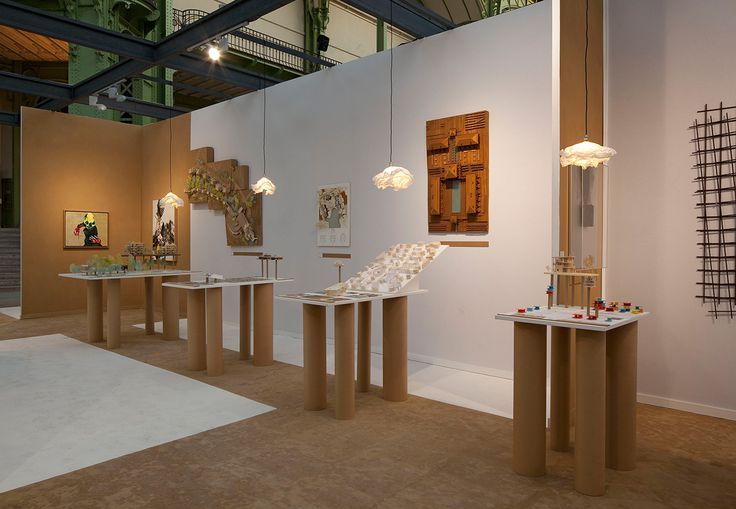 FOIRE ART PARIS + GUEST GRAND PALAIS, 75001 PARIS, FRANCE 2010, JEAN DE GASTINES ARCHITECTES