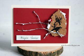 kilka pomysłów na bożonarodzeniowe kartki z życzeniami scrapbooking