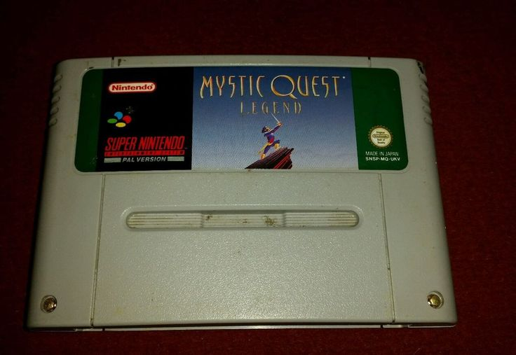 Mystic quest legend super nintendo snes