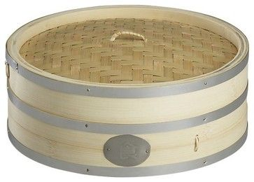 Bamboo Steamer - asian - cookware and bakeware - Crate
