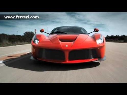 Red La Ferrari