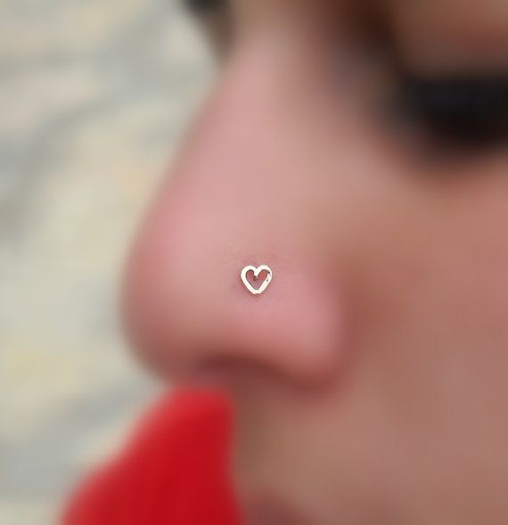 Nose Stud Nose Piercing Tragus Earring by Holylandstreasures