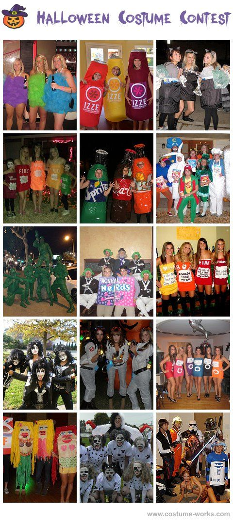 Homemade Costumes for Groups: Diy Costumes, Costumes Group, Halloween Costumes, Group Costumes, Costume Ideas, Halloween Costume Group, Halloween Group Costume, Homemade Costumes, Groups