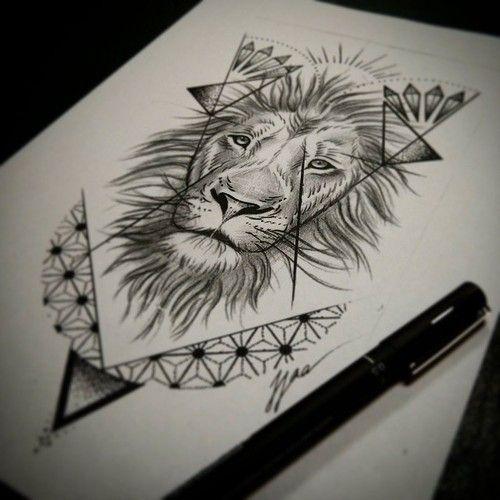 lion tattoo tumblr - Google Search