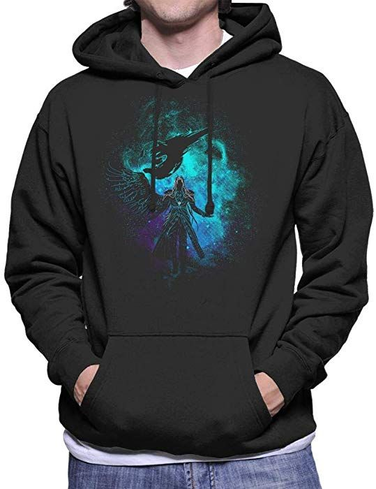 23f8829c Sephiroth Silhouette Final Fantasy VII Men's Hooded Sweatshirt ...
