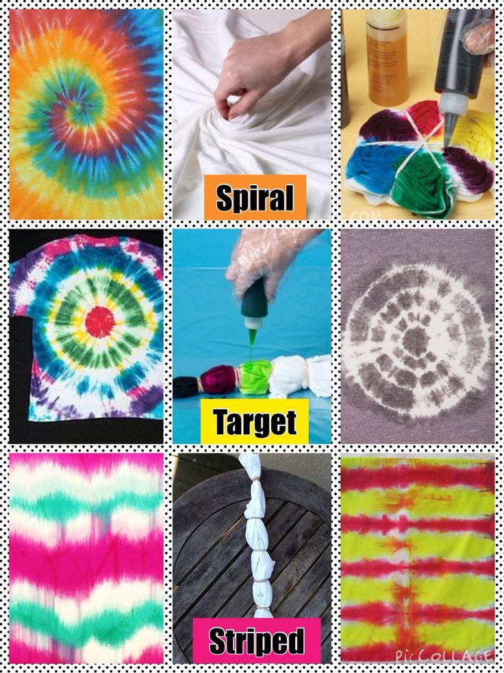 Tie Dye Techniques