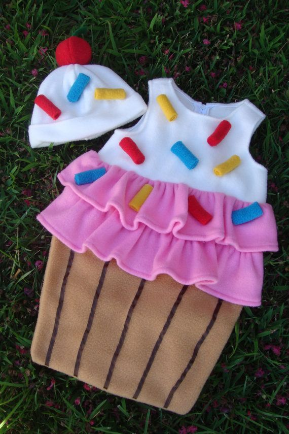 Baby Cupcake with Sprinkles costume  for by EZorangeDesign on Etsy, $55.00.....costume for this year?!!!