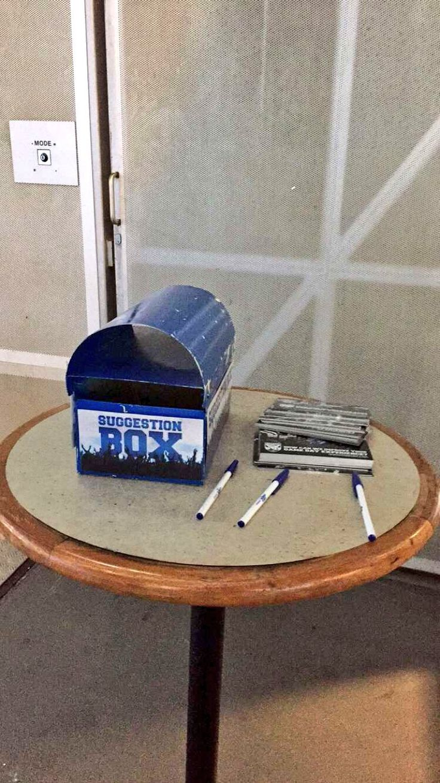 NRL Bulldogs ANZ Stadium fan suggestion box