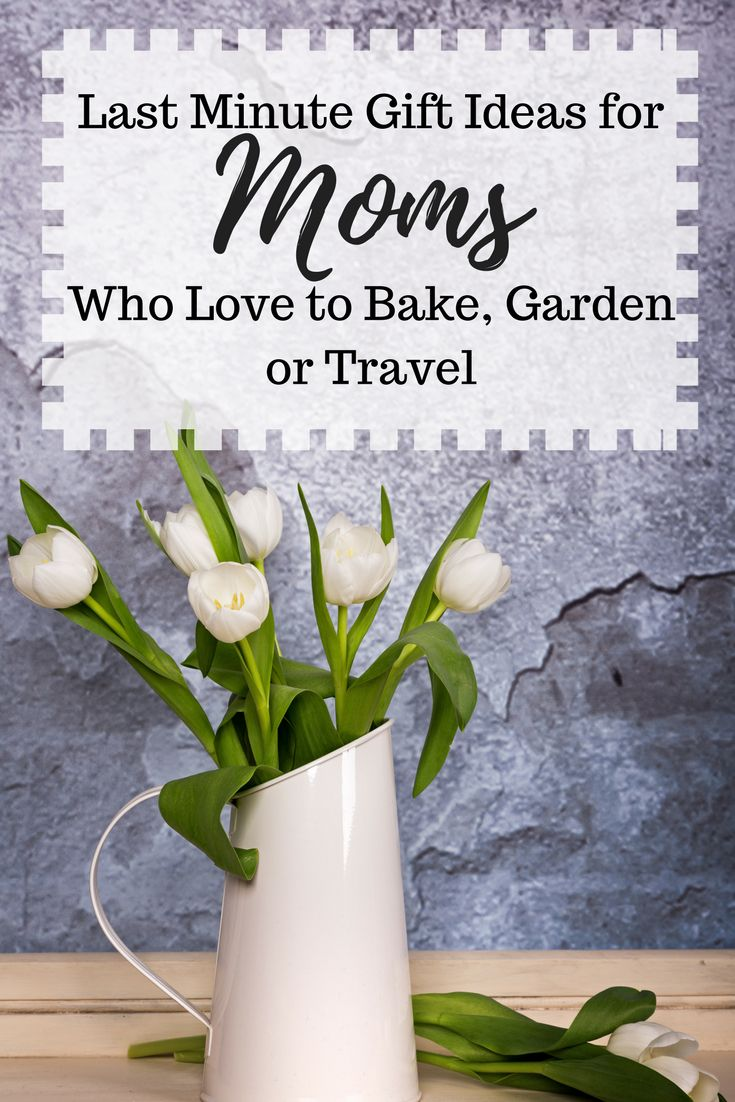 Last Minute Gift Ideas for Moms who Love to Bake, Garden or Travel