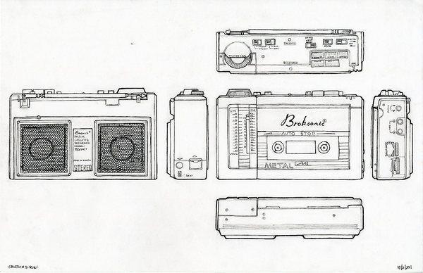 radio, minus gambar potongan skala dan judul.