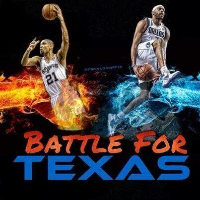 Spurs vs Mavericks-Go Spurs Go