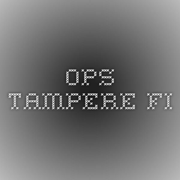 ops.tampere.fi