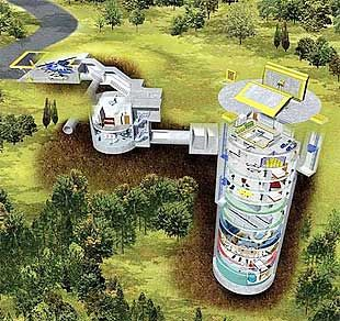 building an underground house too expensive how about buying a decommissioned missile silo cheap and - Underground Home Ideas