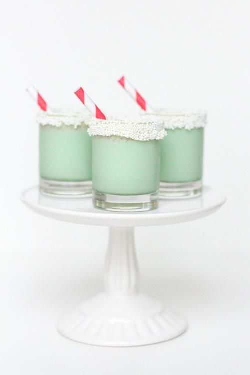Christmas Cookie Ice Cream Shots: Christmas Parties, Recipe, Christmas Cookies, Food, Holidays, Ice Cream, Cookies Shots, Cream Shots, Cookies Ice