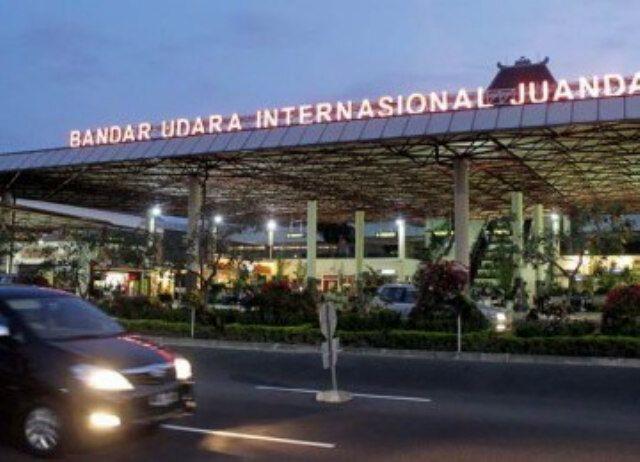 Juanda International Airport (SUB) in Sidoarjo, Jawa Timur