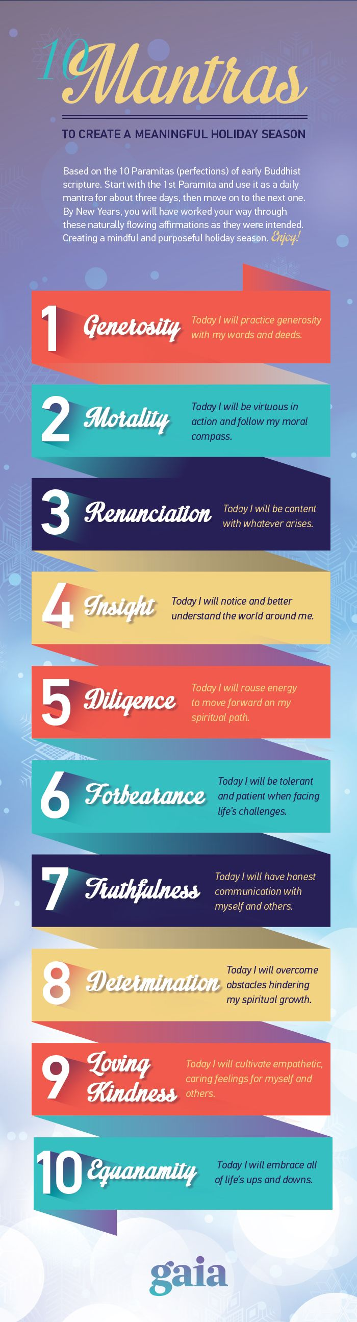 Reasons to Meditate Infographic