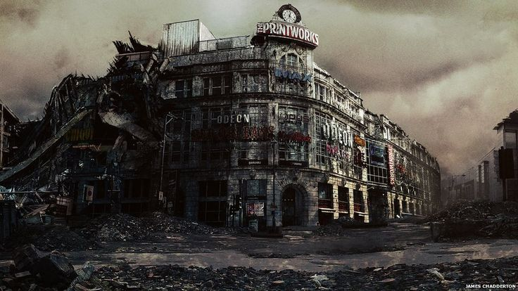 post apocalyptic city | BBC News - In pictures: Manchester after an apocalypse
