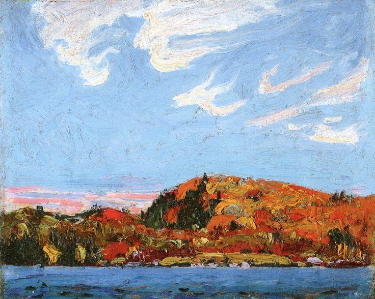 Tom Thomson's Hills in Autumn, 1914
