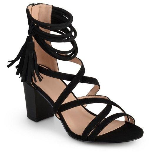 Journee Collection Women's Ruthie Strappy Tassel High Heels