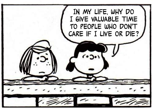If Charlie Brown and the Peanuts Gang Spoke Only in Morrissey and The Smiths Quotes