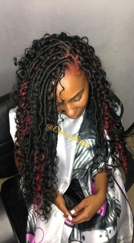 New crochet braids hairstyles locs black girls 20+ Ideas,  #Black #Braids #Crochet #crochetbr…