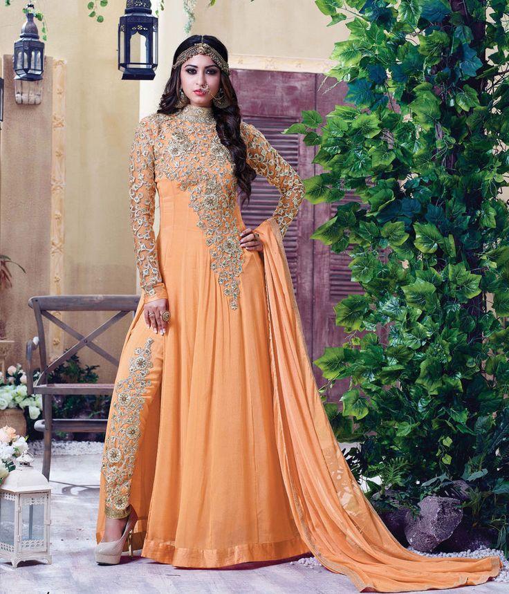 Indian Salwar Kameez Bollywood Anarkali Partywear Pakistani Suit Shalwar Dress #JilLifestyle #AnarkaliSuit