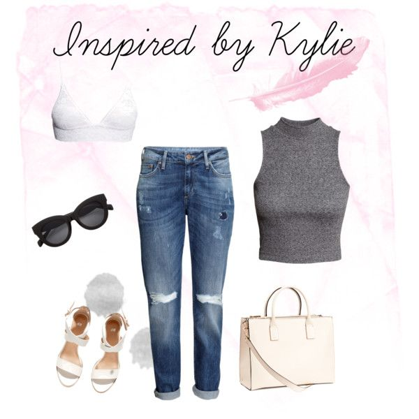 Inspired by Kylie by michellewl on Polyvore featuring H&M