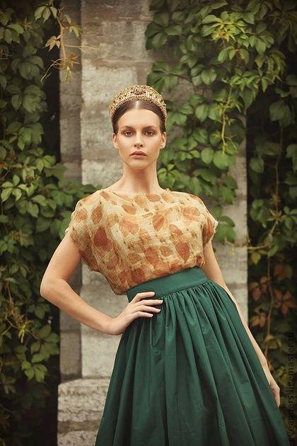 Lidia - Пышная юбка - ретро-стиль,50-е,Юбка-макси,пышная юбка,классический стиль