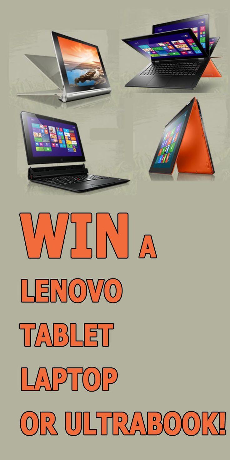 Win Lenovo Prizes!